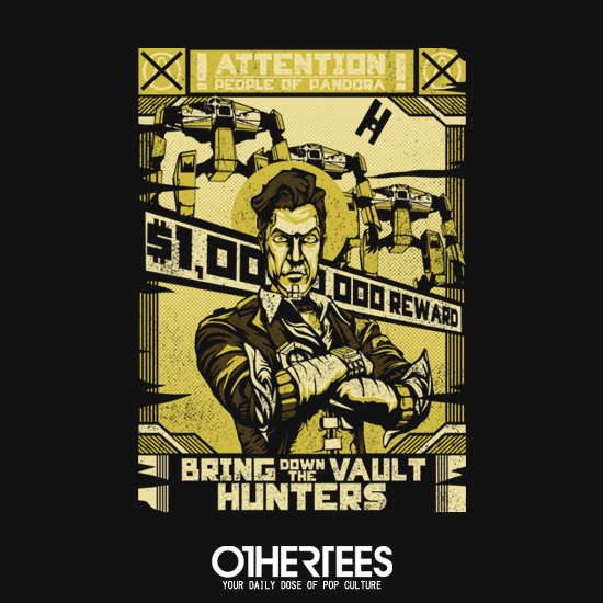 OtherTees: Bring Down the Vault Hunters