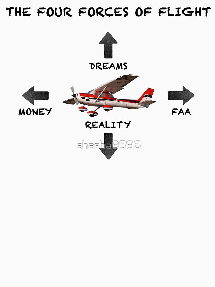 RedBubble: The Four Forces of Flight