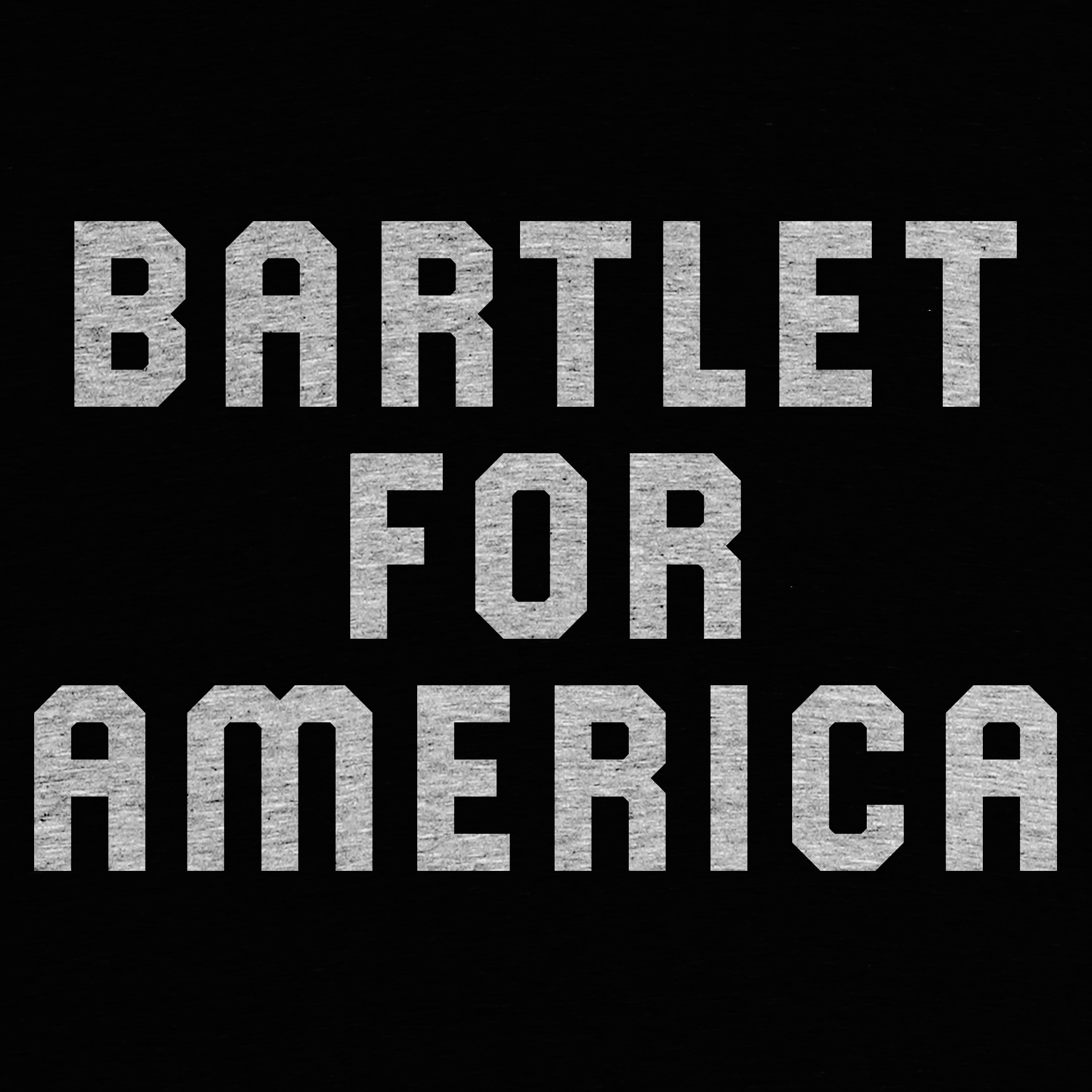 Cotton Bureau: Bartlet For America