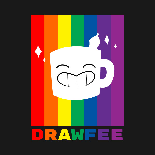 TeePublic: Drawfee Supports Pride!