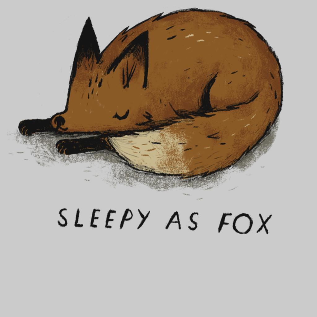 NeatoShop: sleepy as fox