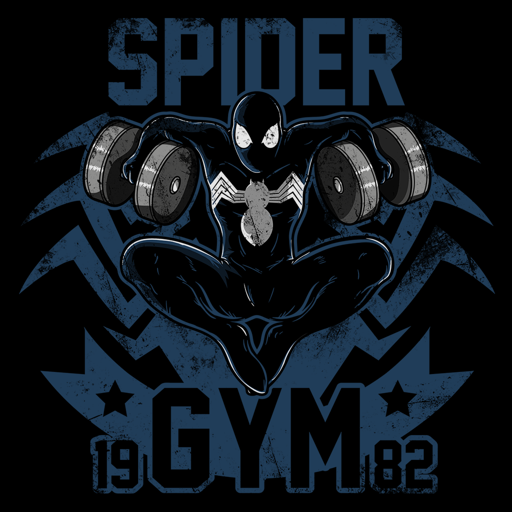 Pop-Up Tee: Spider Gym