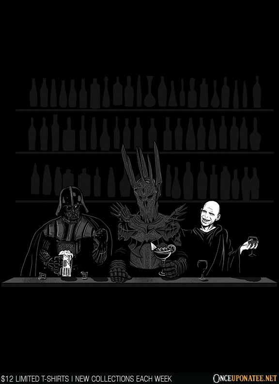Once Upon a Tee: Dark Lord Happy Hour
