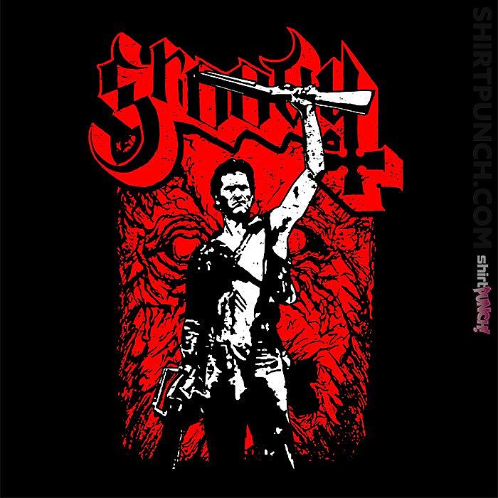 ShirtPunch: Groovy Metal