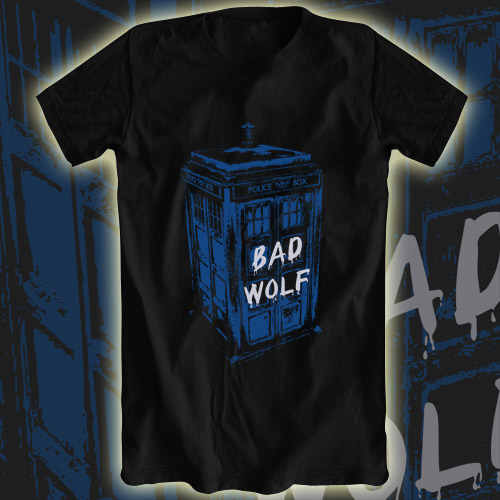 Aplentee: Blue Box Bad Wolf