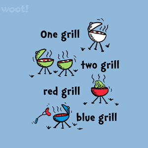 Woot!: One Grill Two Grill