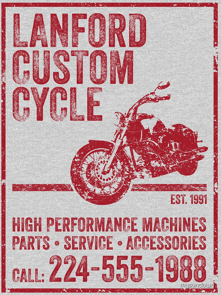 RedBubble: Lanford Custom Cycle