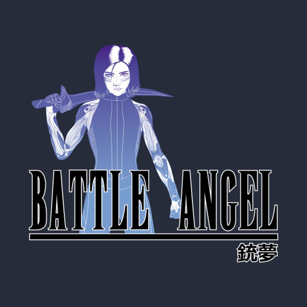 TeePublic: Battle Final Angel Fantasy