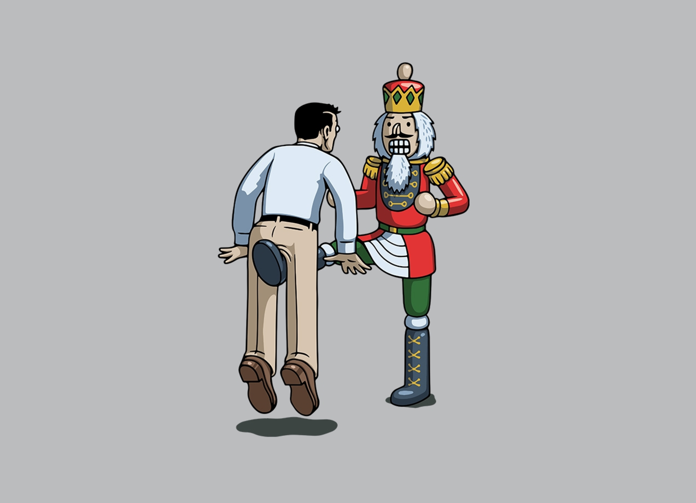 Threadless: Nutcrackin'