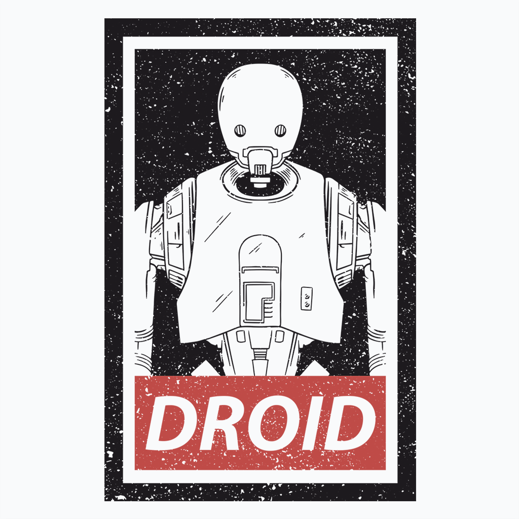 Pop-Up Tee: Droid