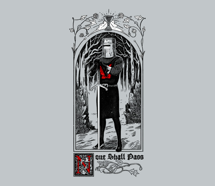 TeeFury: None Shall Pass