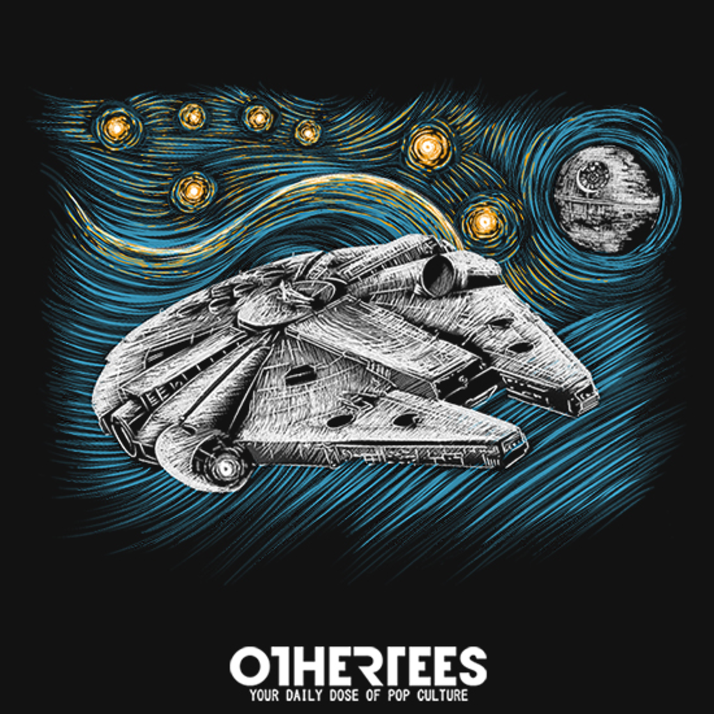OtherTees: Starry Falcon