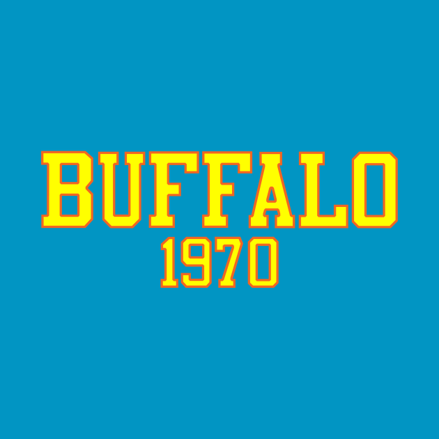 TeePublic: Buffalo 1970 (Basketball)