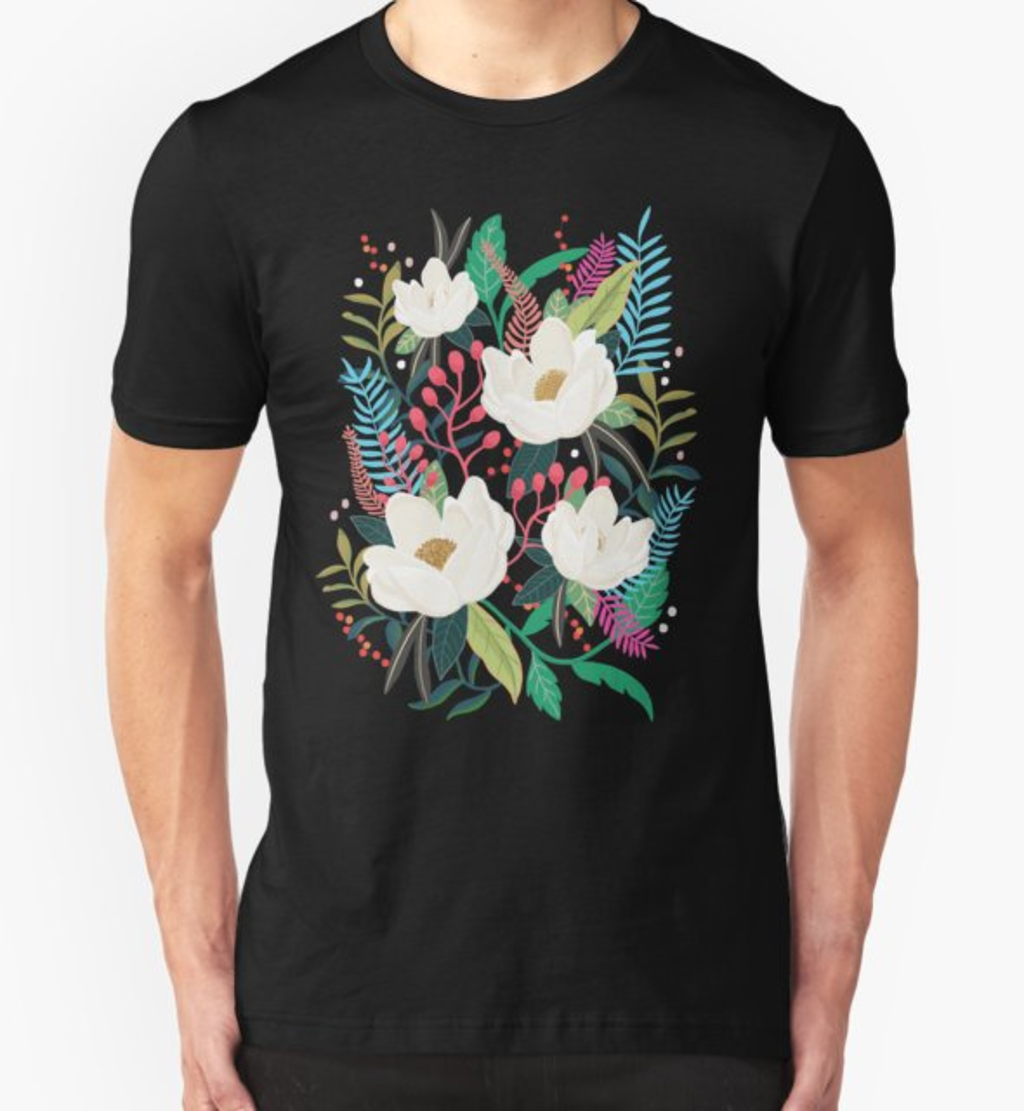 RedBubble: The Garden of Alice, flower, floral, blossom art print