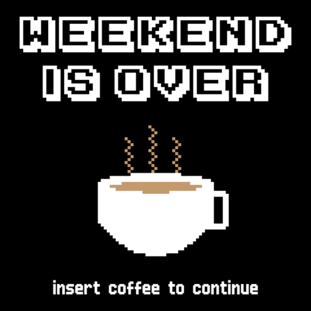 NeatoShop: Insert coffee to continue