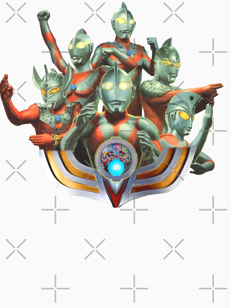 RedBubble: Multi Ultraman collage on your favourite