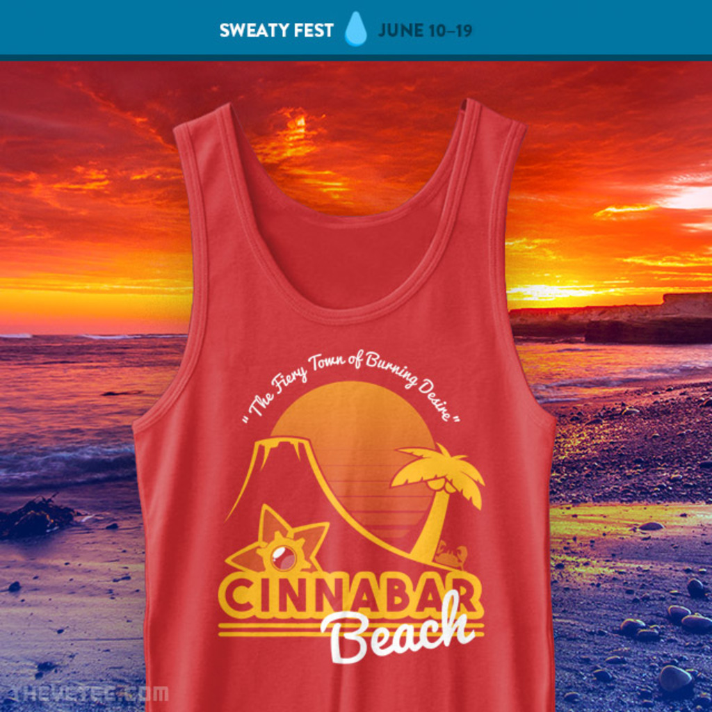 The Yetee: Burning Desire Tank Top