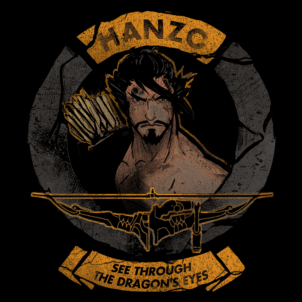 Pop-Up Tee: Hanzo