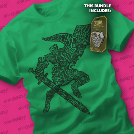ShirtPunch: Epona needs an Oil Change Bundle