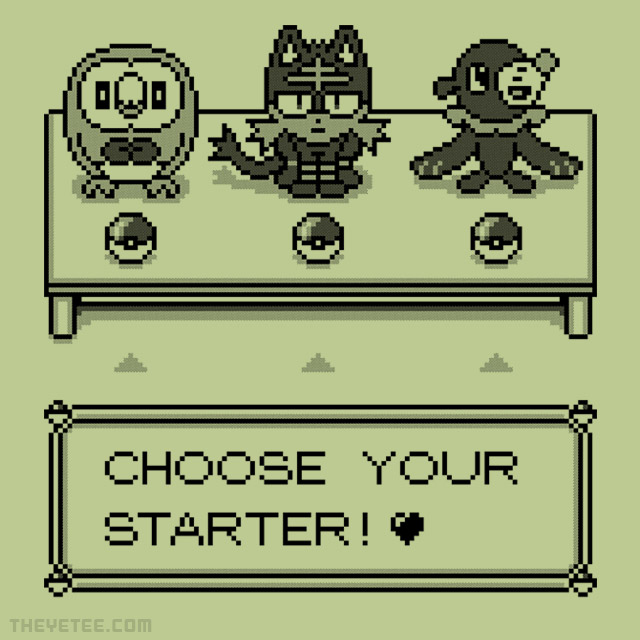 The Yetee: Aloha! Choose Your Starter!