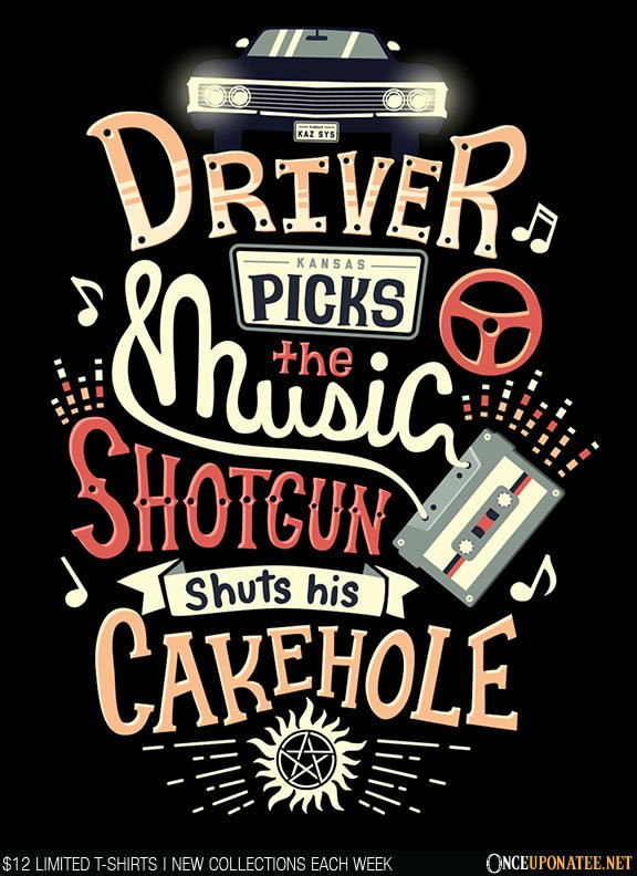 Once Upon a Tee: Driver Picks the Music