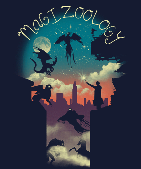 Qwertee: Magical Beasts