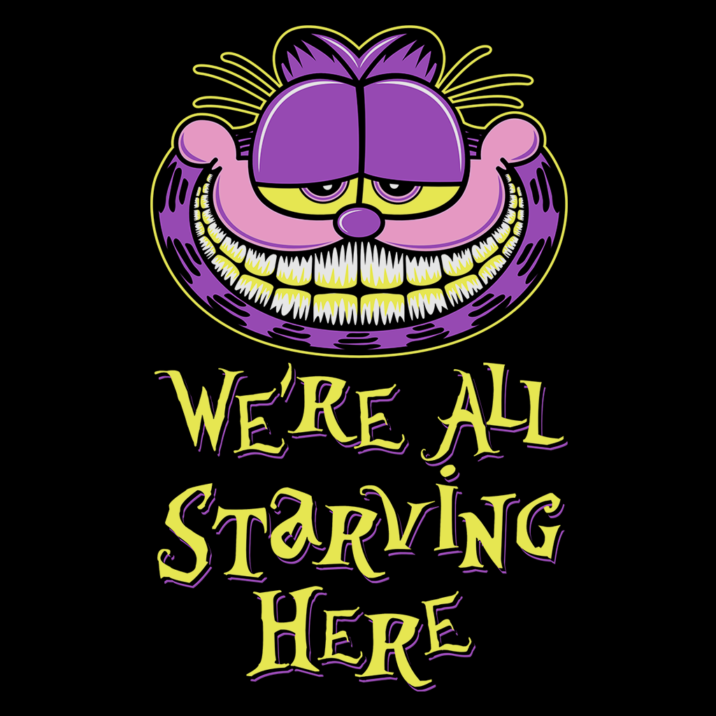 Pop-Up Tee: We're All Starving