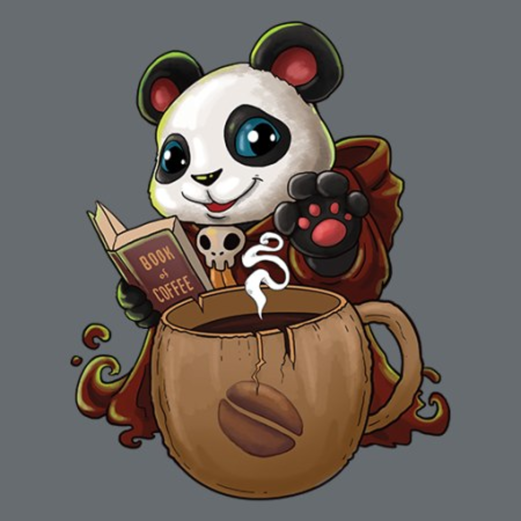 MeWicked: Panda Coffeemancer - Book of Coffee
