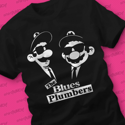 ShirtPunch: The Blues Plumbers