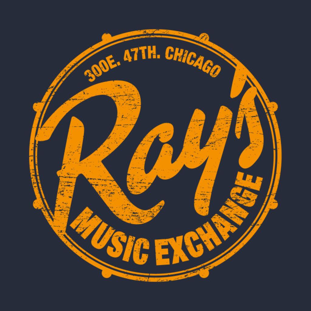 TeePublic: Ray's Music Exchange (worn look)