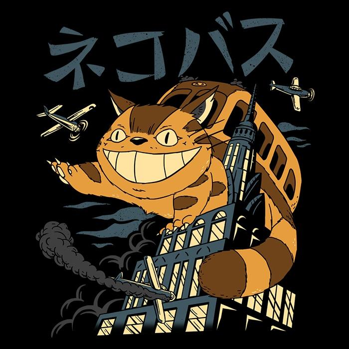 Once Upon a Tee: Cat Kong Attacks