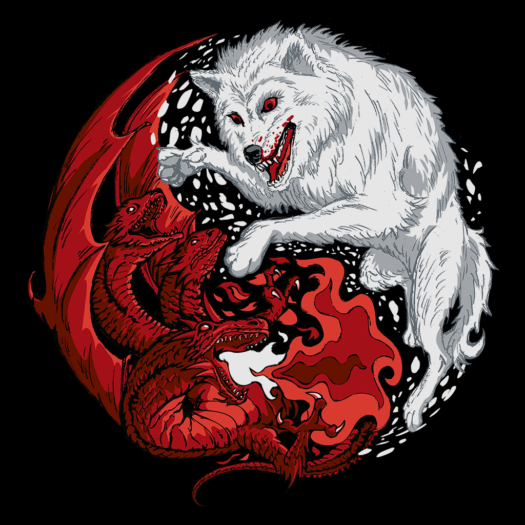 Pop-Up Tee: Ice And Fire