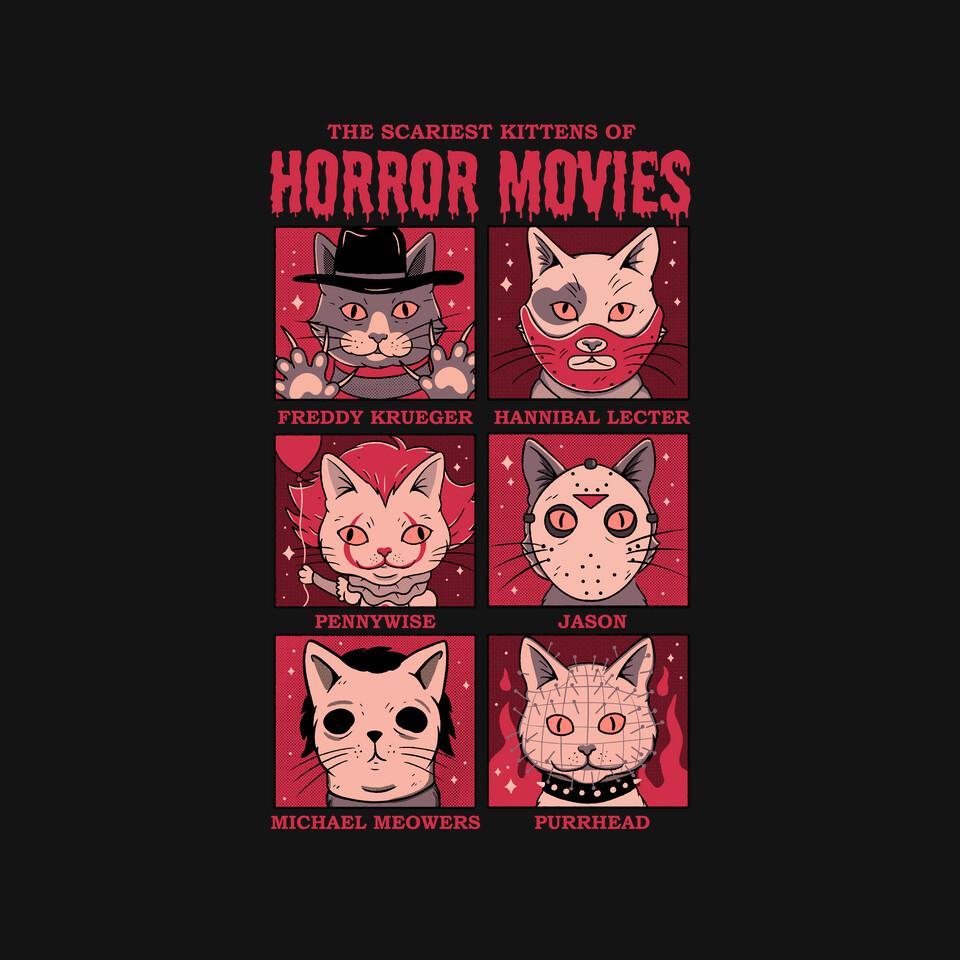 TeeFury: Horror Movies
