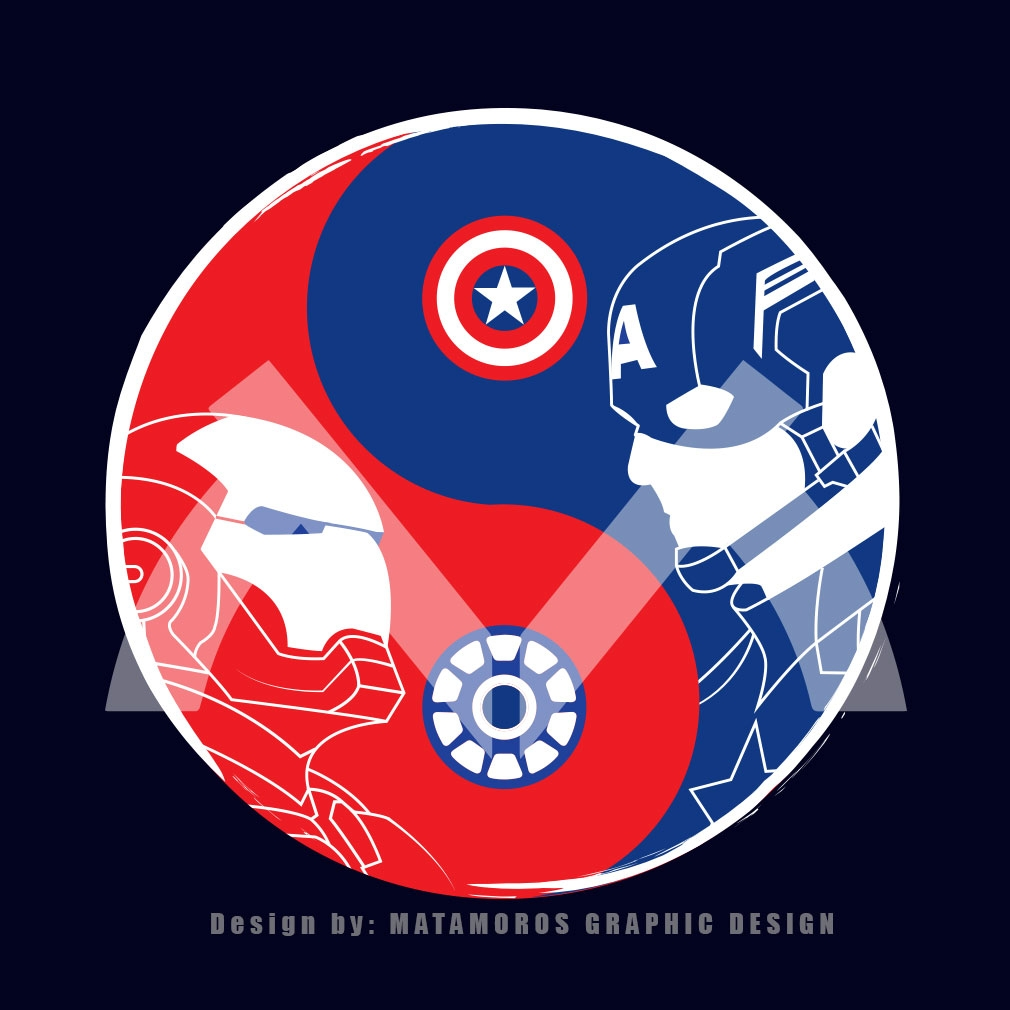 TeeTournament: RED VS BLUE - CIVIL WAR