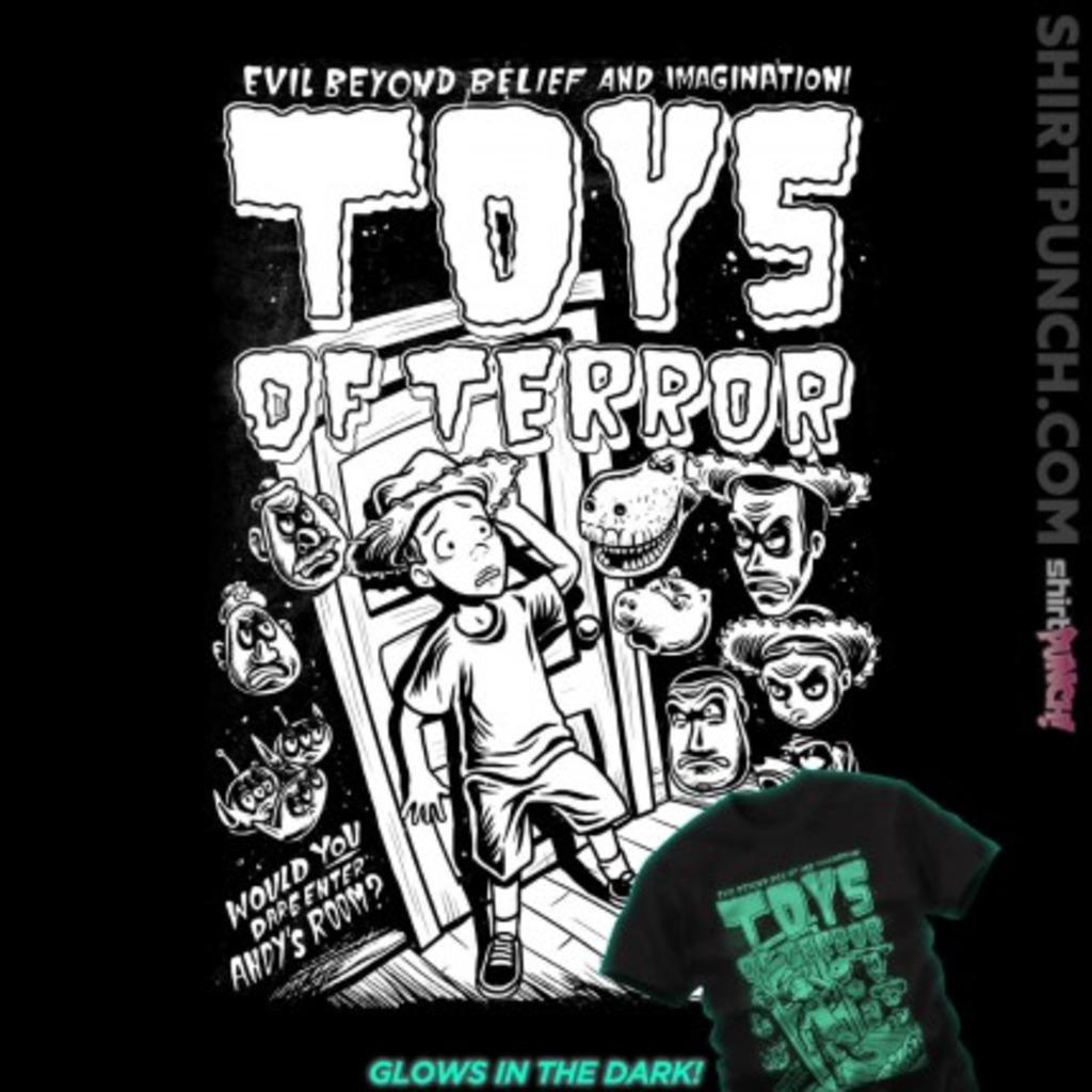 ShirtPunch: Toys of Terror