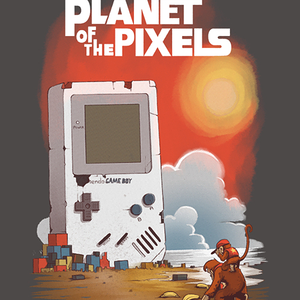 Qwertee: Planet of the Pixels