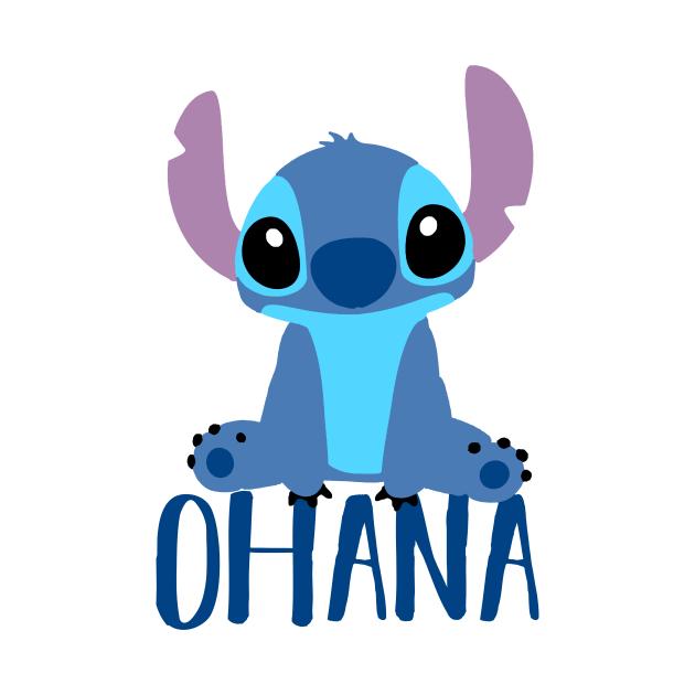TeePublic: Stitch Ohana