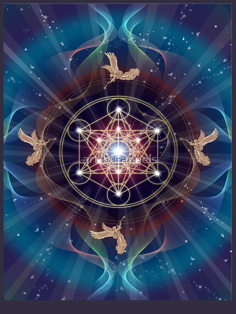 RedBubble: Metatron's Cube - Merkabah - Peace and Balance