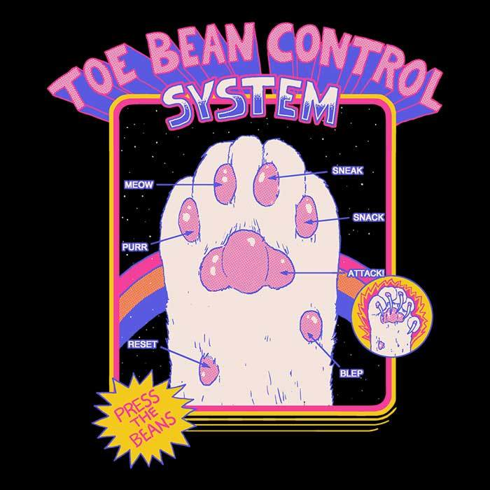 Once Upon a Tee: Toe Bean Control System
