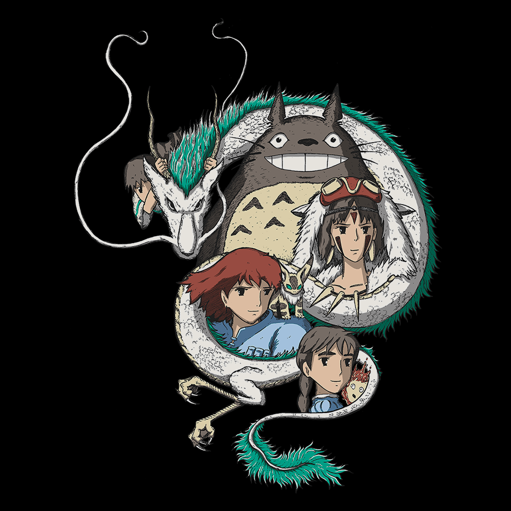 Pop-Up Tee: Ghibli