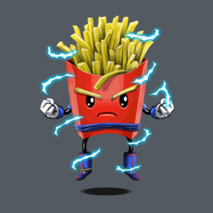 BustedTees: Saiyan Fries