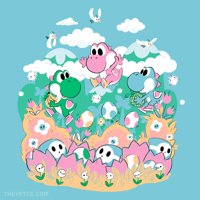 The Yetee: Fluffy Island