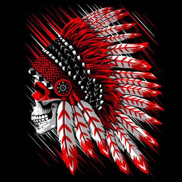 NeatoShop: Indian Chief Skull