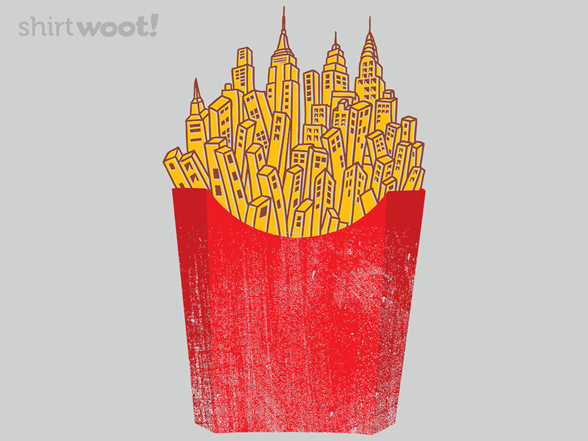Woot!: French Fries City - $8.00 + $5 standard shipping