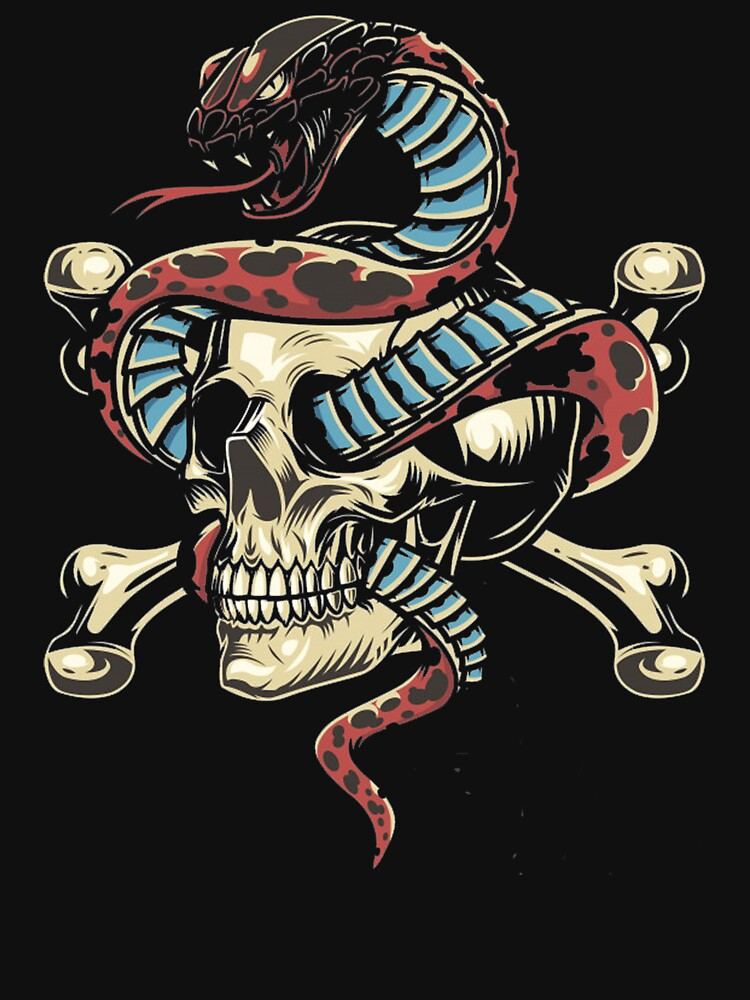 RedBubble: Cobra Kai Conquers the Skull