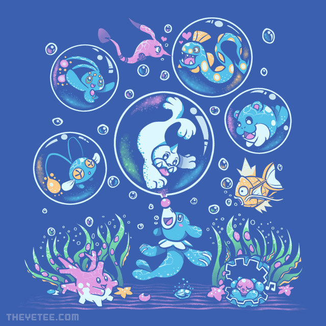 The Yetee: Bubble Popp
