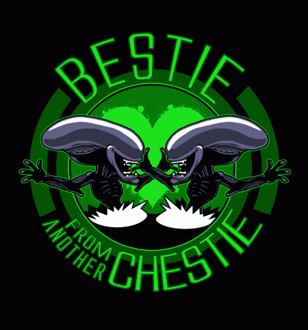 BustedTees: Bestie from Another Chestie