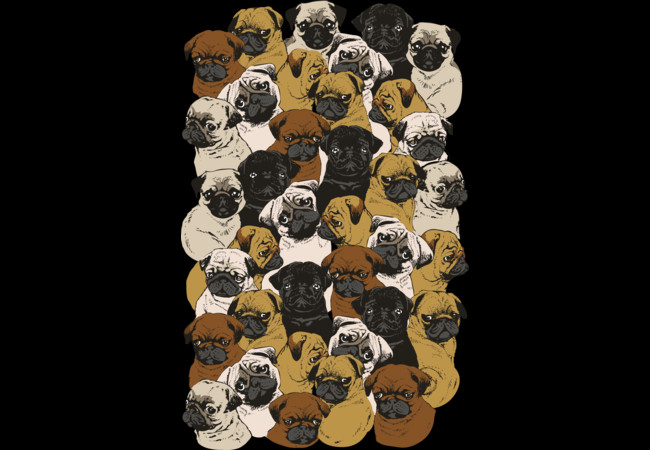 Design by Humans: Social Pugs