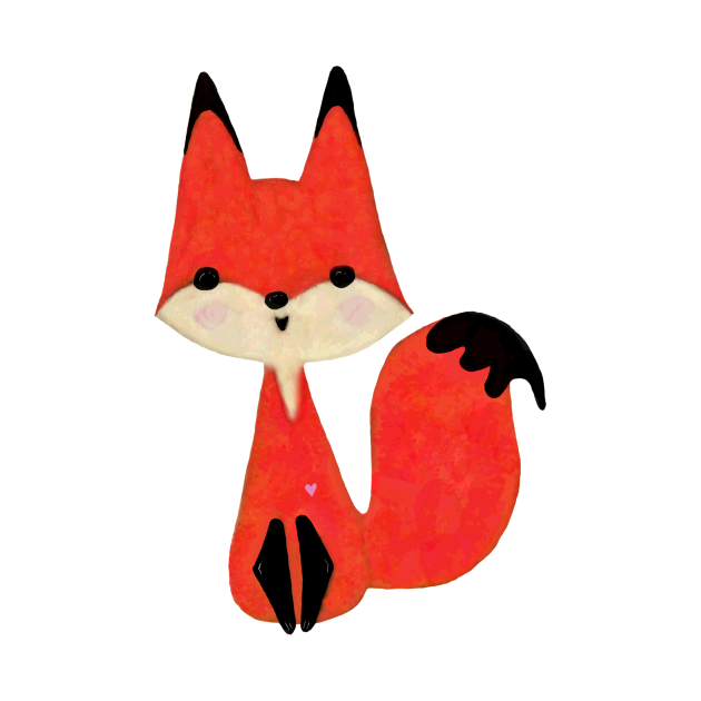 TeePublic: Red Fox