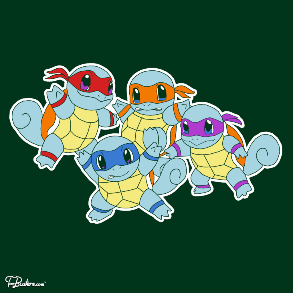 TeeBusters: Ninjaquirtles
